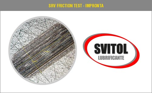 SRV Friction Test - Impronta